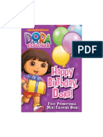 Dora Mini ColoringBook WEB
