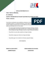 Circular Informativa n 2 Corregida