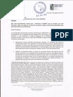 Nota Petición Al Indert Sobre El Caso Laterza Kue