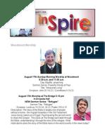 InSpire - August 11, 2014