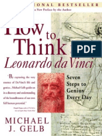 How to Think Like Leonarda Da Vinci