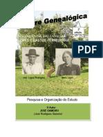 Árvore Genealógica das Famílias Bastos Ferreirinha e Lopes (materno)