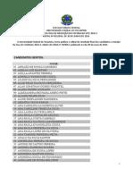 Edital 051 2014 Vestibular2014 02 ResultadoFinal SolicitacaoIsencao