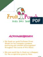 Fruit Punch - Marketing