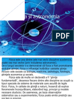 Fizica Si Astronomia