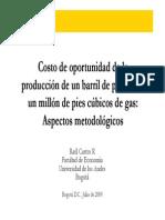Estructura de Costo de Petrolero en Bolivia