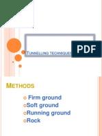 UNIT-3 (Part-3) Tunnelling Techniques