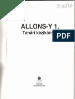 Vida Enikő; Allons-y 1. Tanári Kézikönyv 1-8. Lecke