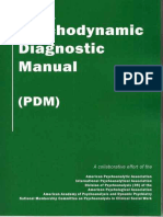 Psychodynamic_Diagnostic Manual (PDM)