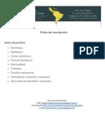 Ficha de Inscripción AAS-UNNE