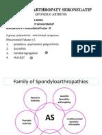 Spondilo Arthropaty Seronegatip (Spondilo