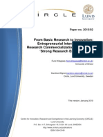 From Basic Research to Innovation