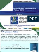 DEMONSTR CONTABEIS CONSOLIDADAS