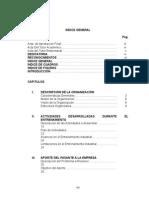 2.- Indice General