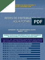 3. Redes de Distribucion de Agua Potable