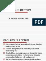 Prolapsus Rectum