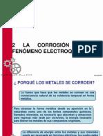 Tópicos de Mecánica 2 .La Corrosión Como Fenómeno Electroquímico