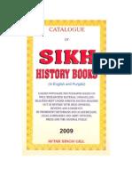 Catalogue of Sikh History Books