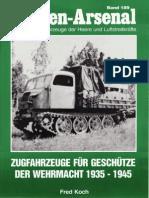 Waffen Arsenal - Band 189 - Zugfahrzeuge für Geschütze der Wehrmacht 1939-1945
