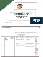 Rancangan Tahunan Psk Tg 2 2014