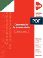 Comprobación de Punzonamiento - Manual de Usuario