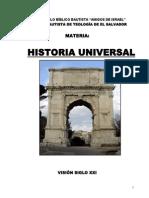 FOLLETO Historia Universal