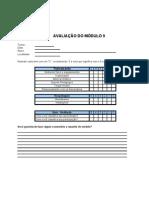 modelo avaliação de reação