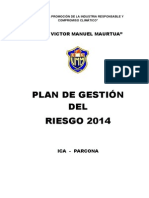 Plan de Gestión 2014vmm