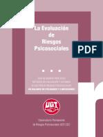 Guia Para La Evaluación de Riesgos Psicosociales - Ugt España