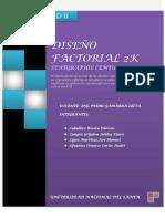 Diseño Factorial 2k Final