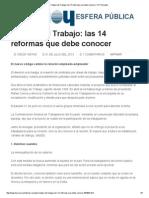 Código Del Trabajo_ Las 14 Reformas Que Debe Conocer _ HOY Ecuador