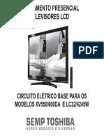 Toshiba Lc3245w Lc4245w Xv550 Xv600da Lcd Tv Treinamento