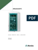 Manual 850 Professional IC AnCat MSM-HC MCS