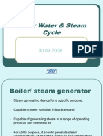 Boiler Water & Steam Cycle