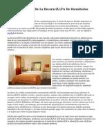 Tu Guía  Acerca De La Decoración De Dormitorios