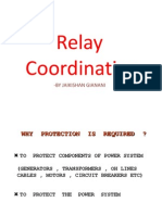 Relay Co Ordination