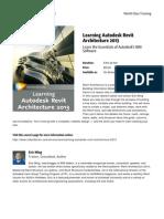 Learning Autodesk Revit Architecture 2013