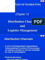 DISTRIBUTION CHANNLES AND LOGISTICS MANAGEMENT