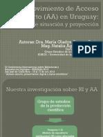 Movimiento de Acceso Abierto en Uruguay Pr