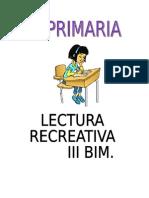 Lectura III Bim