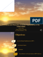 Prevalence and Reduction of Human Papillomavirus in US-narrative Copy