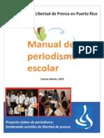 Manual de Periodismo Escolar, 4ta edición