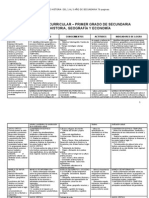 Programación Anual y Unidades de Historia Del 1 Al 5 Año de Secundaria 79 Paginas