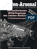 Waffen Arsenal - Special Band 01 - Die berühmtesten Militärflugzeuge des Zweiten Weltkrieges in Phantomzeichnungen