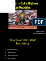 Evaluacióny Control NutricionalenDeportistas-Lic.vladimir Colcas