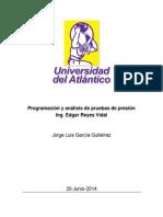 Programación y Análisis de Pruebas de Presión