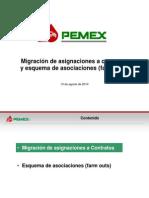 Pemex Migraciones y Farmouts Ago 13 2014 FInal