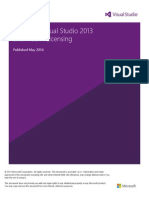 Visual Studio 2013 and MSDN Licensing Whitepaper - July-2014