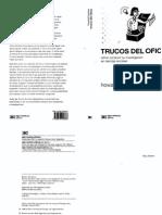 Becker Trucos Del Oficio Cómo Conducir Su Investigación en Ciencias Sociales