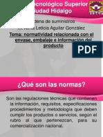 3.3 Normatividad Relacinada Con Envase Embalaje e Informacion Del Produto